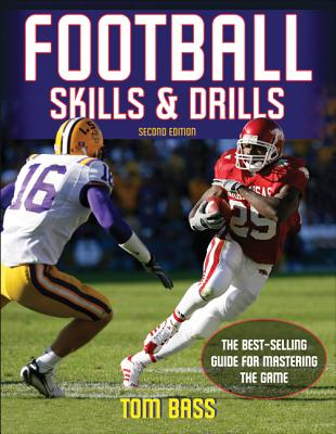 Football Skills & Drills By Bass, Tom